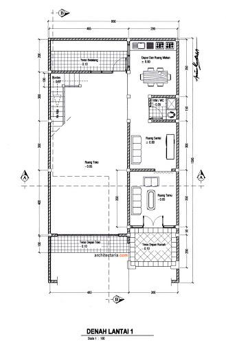 Sketsa Atau Denah Rumah Mewah Jakarta
